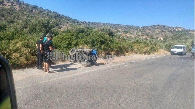 Τρομακτικό δυστύχημα με γουρούνα στην Κρήτη: Ένας νεκρός και μια βαριά τραυματίας