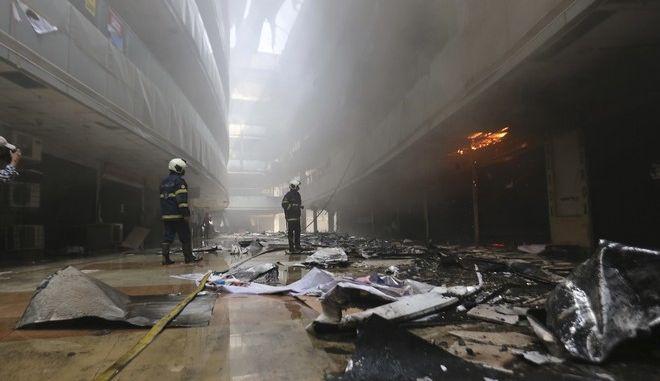 Φωτιά σε νοσοκομείο της Ινδίας (ΦΩΤΟ ΑΡΧΕΙΟΥ)