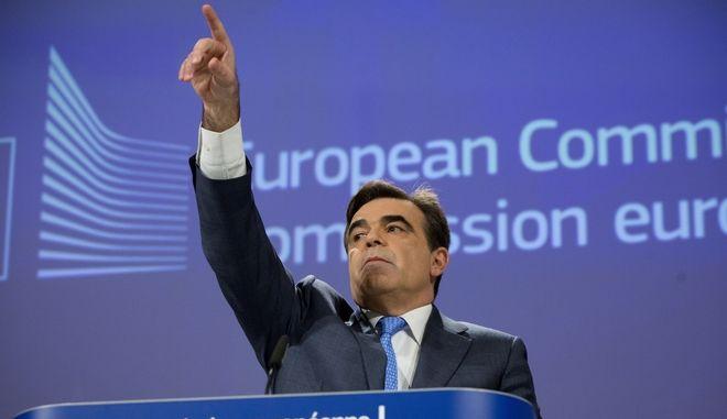 Ο νέος αντιπρόεδρος της Κομισιόν Μαργαρίτης Σχοινάς