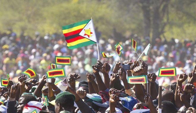 Ζιμπάμπουε: Διαδηλωτές πραγματοποιούν πορεία προς την ιδιωτική κατοικία του Μουγκάμπε