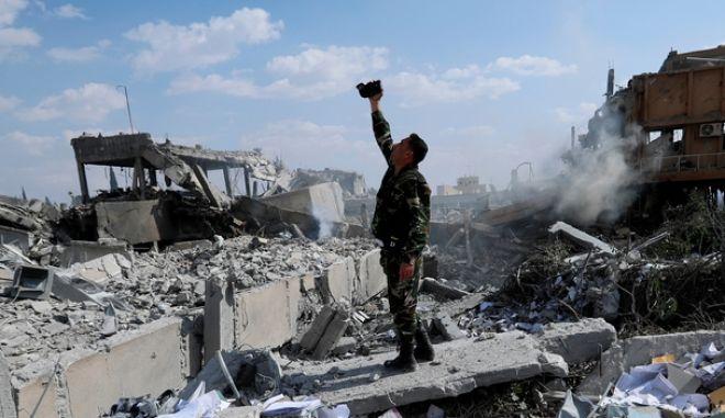 Φωτογραφία από τη Συρία