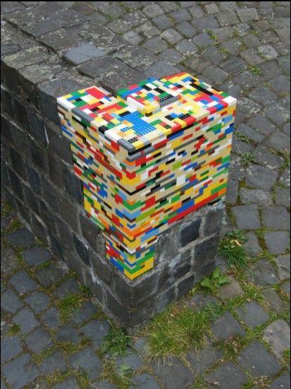 Dispatchwork: Επιδιορθώνει δημόσιους χώρους με κομμάτια Lego