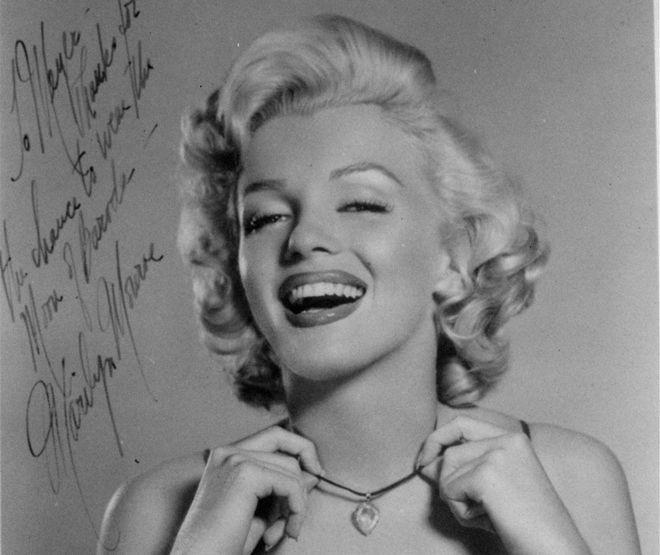 H Marilyn Monroe