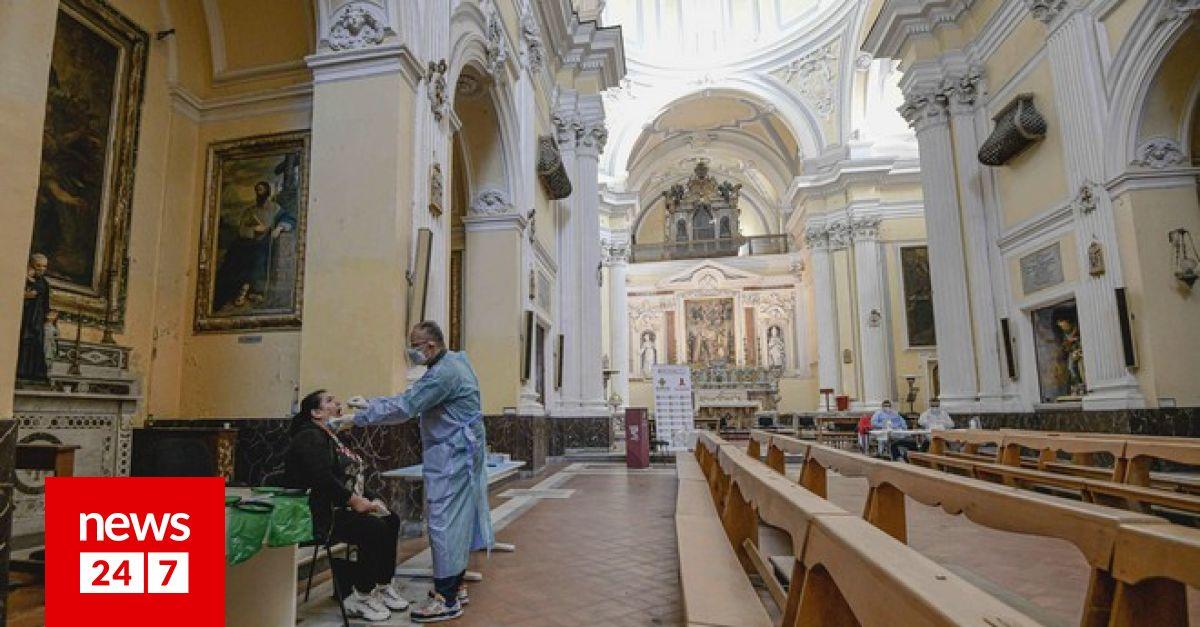 Ιταλία: Πάνω από 34.000 κρούσματα το τελευταίο 24ωρο – 'Το σύστημα υγείας καταρρέει', λένε οι γιατροί – Κόσμος