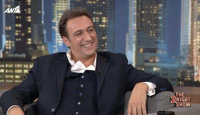 Ο Βαγγέλης Αλεξανδρής στο 2Night Show
