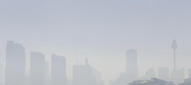 Πυκνό νέφος έχει καλύψει το Σίδνεϊ