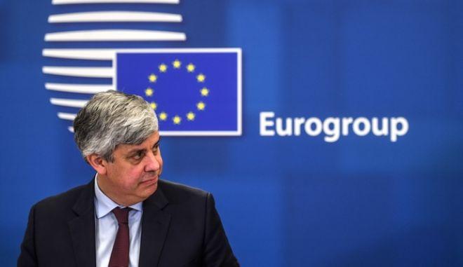 Ο Πρόεδρος του eurogroup Μάριο Σεντένο
