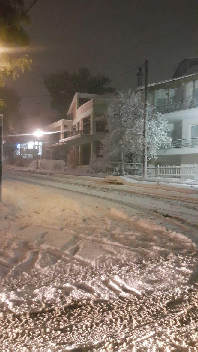 Το χιονισμένο Κρυονέρι
