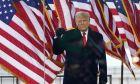 Ο Ντόναλντ Τραμπ στην ομιλία της 6ης Ιανουαρίου