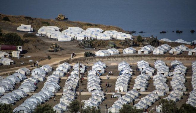 Η νέα δομή του Καρά Τεπέ στη Μυτιλήνη