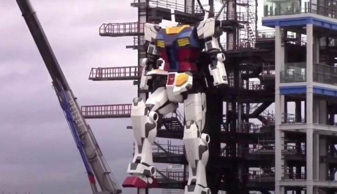 Ιαπωνία: Ένα ρομπότ ύψους 18 μέτρων κάνει τις πρώτες του κινήσεις