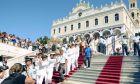 Στις εκδηλώσεις για τον εορτασμό της Κοιμήσεως της Θεοτόκου στην Τήνο.