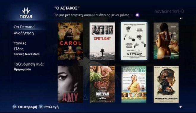 Βραβευμένες ταινίες, όποτε θες στο Nova On Demand!