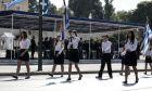 Μαθητική παρέλαση για τον εορτασμό της εθνικής επετείου της 28ης Οκτωβρίου, την Δευτέρα 28 Οκτωβρίου 2019, στην Αθήνα. (EUROKINISSI/ΣΤΕΛΙΟΣ ΜΙΣΙΝΑΣ)