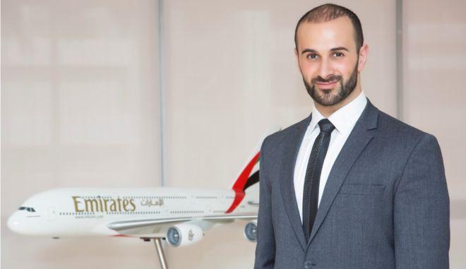 Η Emirates διορίζει νέο Διευθυντή για Ελλάδα και Αλβανία