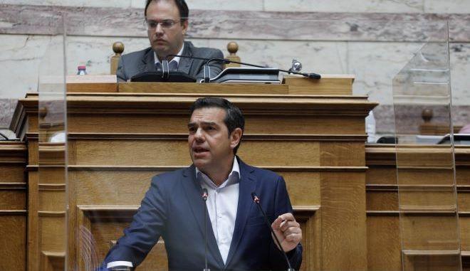"""Αλέξης Τσίπρας: """"Να μη διπλώσει ο χρόνος αυτής της κυβέρνησης"""""""