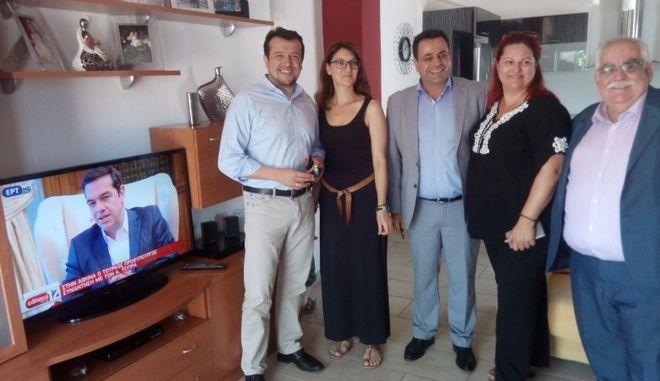 Εγκαινιάστηκε στην Τήλο η δωρεάν δορυφορική σύνδεση μικρών και απομακρυσμένων νησιών