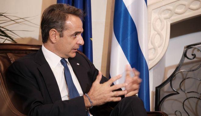 8η Tριμερής Σύνοδος μεταξύ Κύπρου, Ελλάδας και Αιγύπτου, την Τετάρτη 21 Οκτωβρίου 2020, στην Κύπρο. Συνάντηση του Πρωθυπουργού Κυριάκου Μητσοτάκη, με τον πρόεδρο της Κυπριακής Δημοκρατίας, Νίκο Αναστασιάδη. (EUROKINISSI/ΓΡΑΦΕΙΟ ΤΥΠΟΥ ΠΡΩΘΥΠΟΥΡΓΟΥ/ΔΗΜΗΤΡΗΣ ΠΑΠΑΜΗΤΣΟΣ)