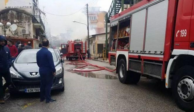 Κομοτηνή: Έκρηξη σε κατάστημα με φιάλες υγραερίου