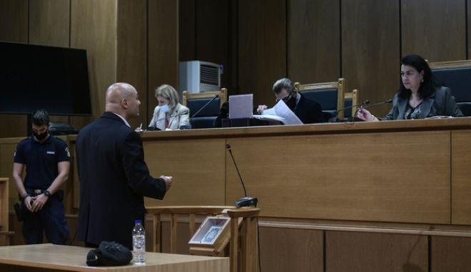 Ο χρυσαυγίτης Γερμενής στο δικαστήριο