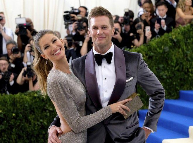 H Gisele Bundchen με το σύζυγο της, Tom Brady