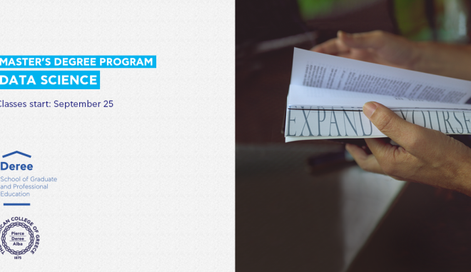 Νέο μεταπτυχιακό πρόγραμμα σε Data Science από το Deree από τον Σεπτέμβριο