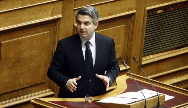 """Συζήτηση στην Ολομέλεια της Βούλης, της επίκαιρης επερώτησης, αρμοδιότητας του Υπουργείου Υγείας, 15 Βουλευτών της Κοινοβουλευτικής Ομάδας της ΔΗΜΟΚΡΑΤΙΚΗΣ ΣΥΜΠΑΡΑΤΑΞΗΣ ΠΑΣΟΚ-ΔΗΜΑΡ, με θέμα: """"Κατάρρευση του Εθνικού Συστήματος Υγείας"""", την Πέμπτη 29 Σεπτεμβρίου 2016. (EUROKINISSI/ΓΙΩΡΓΟΣ ΚΟΝΤΑΡΙΝΗΣ)"""