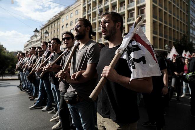Φοιτητικό συλλαλητήριο από φοιτητικούς συλλόγους της Αθήνας