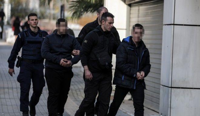 Δίκη για την δολοφονία της φοιτήτριας Ελένης Τοπαλούδη στη Ρόδο στο Μεικτό Ορκωτό Δικαστήριο της Αθήνας, την Δευτέρα 13 Ιανουαρίου 2020.