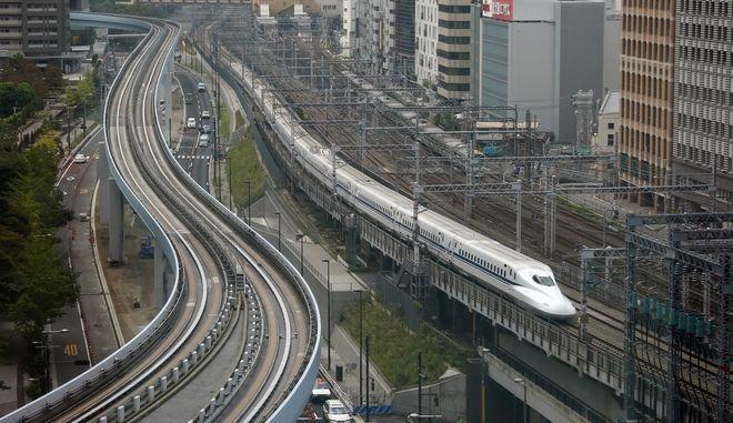 Τρένο στην Ιαπωνία