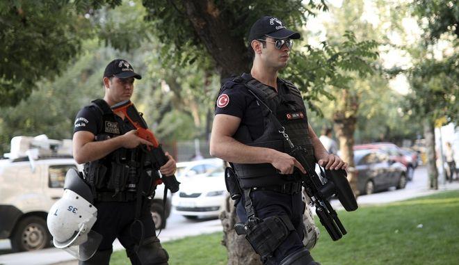 Άνδρες της τουρκικής αστυνομίας