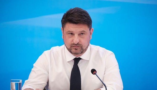 Ο υφυπουργός Πολιτικής Προστασίας Νίκος Χαρδαλιάς