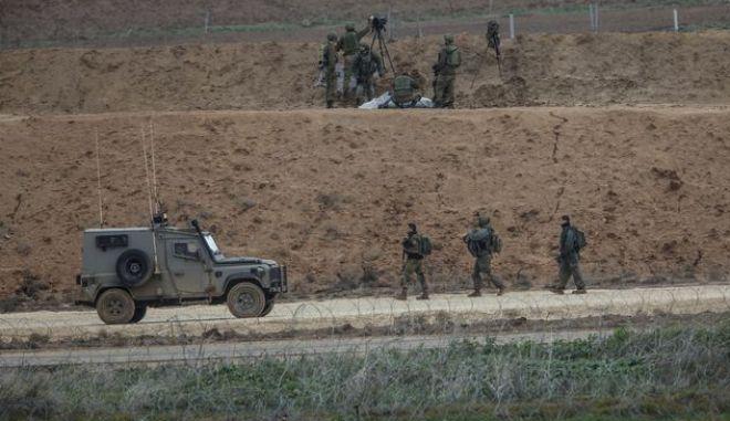 Ισραηλινοί στρατιώτες στη Γάζα