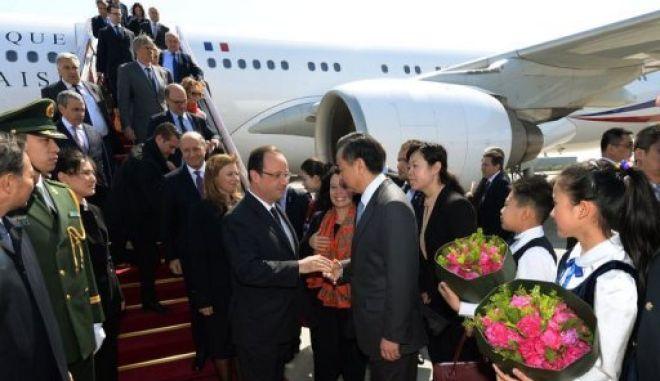 Διήμερη επίσημη επίσκεψη Ολάντ στην Κίνα