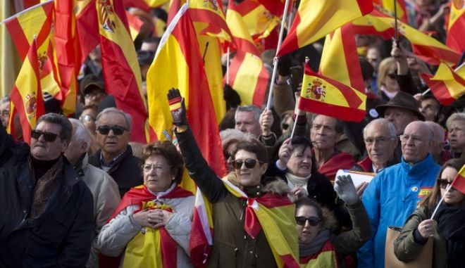 Πλάνο από την πορεία του voz στη Μαδρίτη