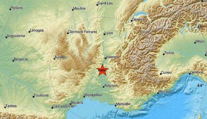 Ισχυρός σεισμός 5,3 Ρίχτερ στη Γαλλία