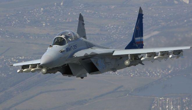 Η Ρωσία παρουσίασε το νέο μαχητικό MiG-35