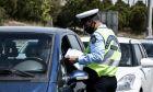 Έλεγχοι της Αστυνομίας στα διόδια της Ελευσίνας.