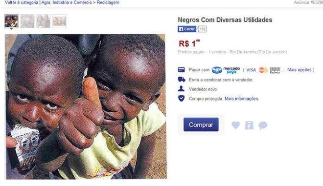 Σοκ στη Βραζιλία: Πωλούσε στο διαδίκτυο, μαύρους ανθρώπους ως σκλάβους