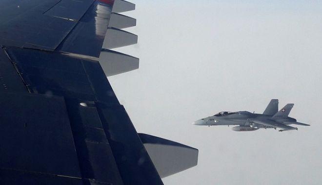 Τρία μαχητικά της Ελβετίας παρενόχλησαν ρωσικό πολιτικό αεροσκάφος