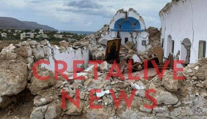 Σεισμός 6,3 ρίχτερ νοτιοανατολικά της Κρήτης - Έντρομοι οι κάτοικοι