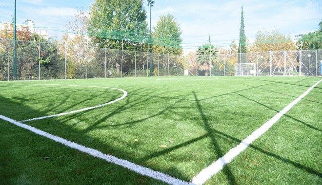 Το ποδοσφαιρικό γήπεδο στη Θερμίδα