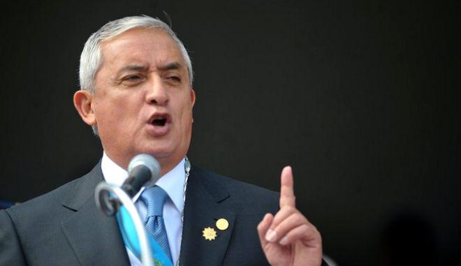 Άρση ασυλίας αποφασίστηκε για τον πρόεδρο της Γουατεμάλας