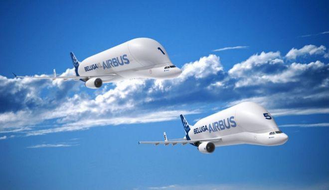 Ένα αεροσκάφος μέσα σε ένα άλλο