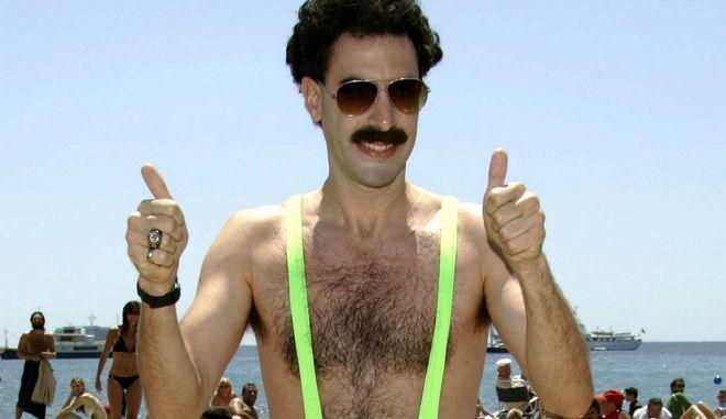 """Sacha Baron Cohen: Το """"τέλος"""" του Borat και η σχέση με τον Τραμπ"""