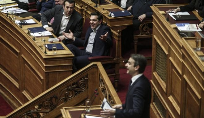 Discussion and vote about TV permits on the plenary of the parliament, in Athens, on Feb. 11, 2016 /         ,  11 , 2016