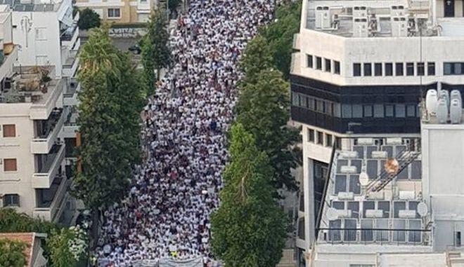 Κύπρος: Μεγάλη διαδήλωση διαμαρτυρίας των εκπαιδευτικών