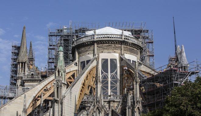 Εργασίες για την αποκατάσταση του Ναού της Παναγίας των Παρισίων