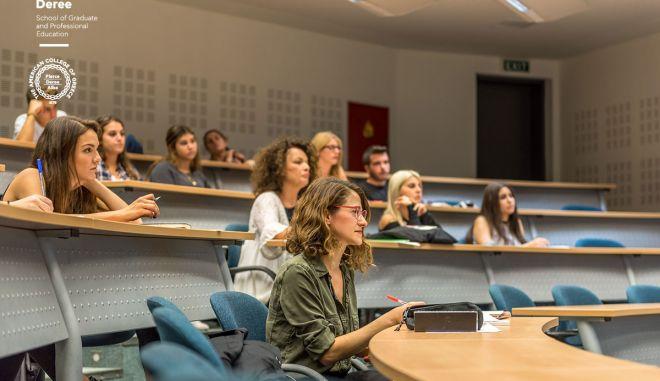 Deree Graduate School: Νέο ακαδημαϊκό έτος για τα μεταπτυχιακά προγράμματα του Deree – The American College of Greece