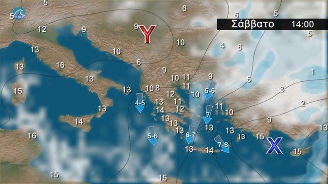 Καιρός: Έρχονται βροχές και πτώση της θερμοκρασίας